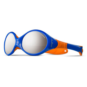 Julbo Looping II Spectron 4 Occhiali da sole 12-24M Bambino, blue/orange-gray flash silver